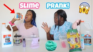 Eating Glue Prank On My Mom | Slime Prank My Mom