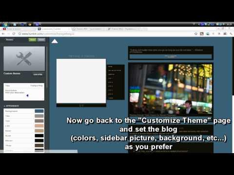 Tumblr Theme #09 || How to install / set it