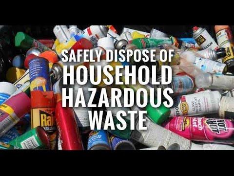 Hazardous Household Waste Drop off Day
