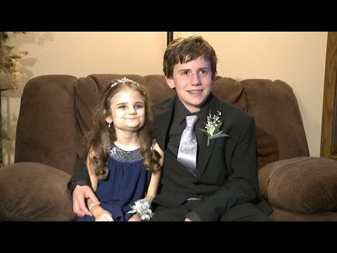 Big Brother Takes His 10-Year-Old Sister Dying of Cancer To School Dance