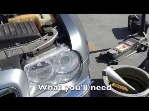 DIY: 2006-10 Chrysler 300C 5.7l V8 Hemi Oil Change Tutorial