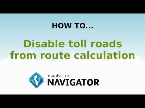Navigator 2.1: How to disable toll roads from route calculation
