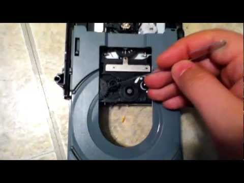 Part 3/4: How to Fix an Xbox 360 Disc Drive That Won't Open: Fixing or Replacing Rubber Band