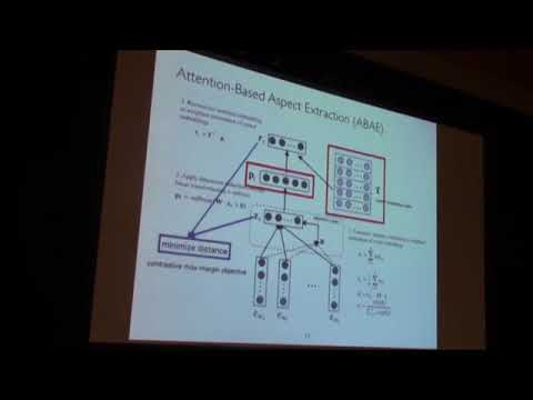 An Unsupervised Neural Attention Model for Aspect Extraction | ACL 2017