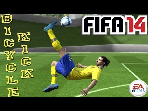 Bicycle / OverHead Kick (Tutorial) : FIFA 14 [PS3 / Xbox 360] ᴴᴰ