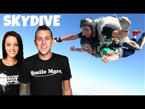 ROMAN ATWOOD & BRITTNEY SMITH SKYDIVE - FULL VIDEO   HD
