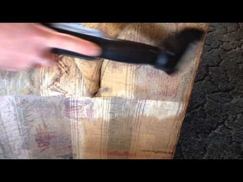 Nicotine Removal from Upholstery