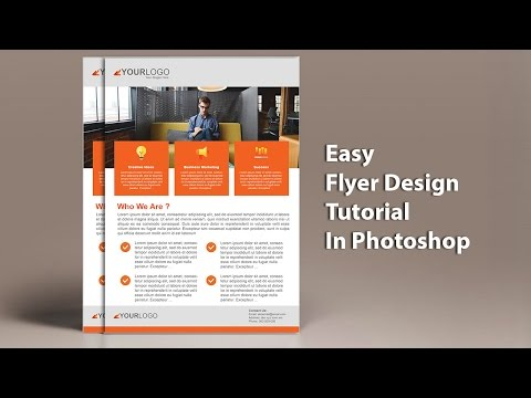 Learn to Design a Professional Business Flyer Design In Adobe Photoshop