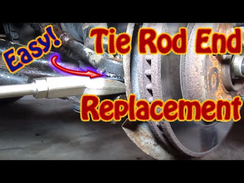 DIY How to Replace Inner Outer Tie Rod Ends On a Chevy Blazer GMC Jimmy S10 Envoy Others