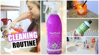 Cleaning Routine + My Favorite Cleaning Products!