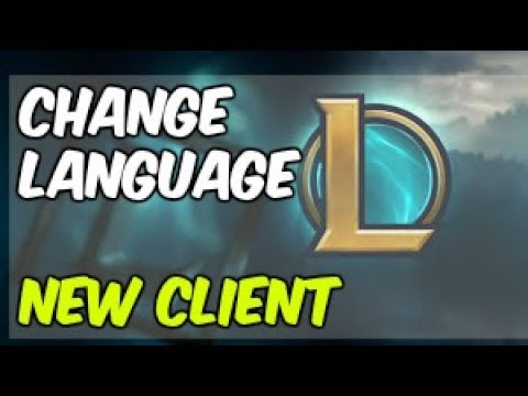 Changing client Language New season UPDATED!