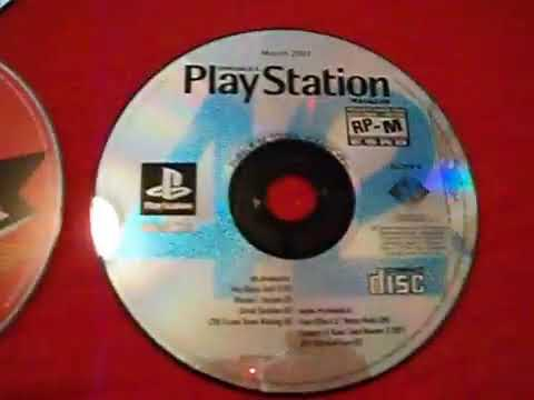 48 Sony PS1 PS2 demo discs SCRATCHED 027