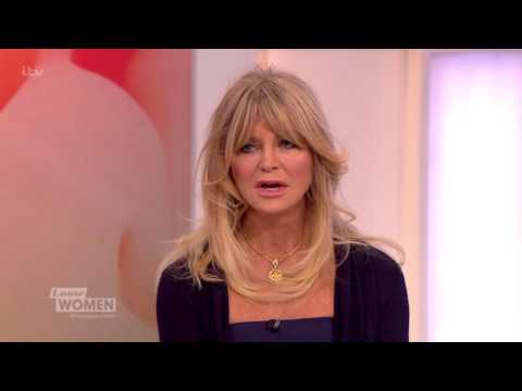 Goldie Hawn On Getting Forgetful Loose Women