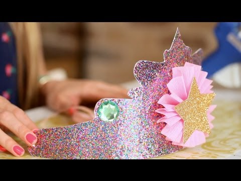 A Birthday to Remember: DIY Princess Crowns