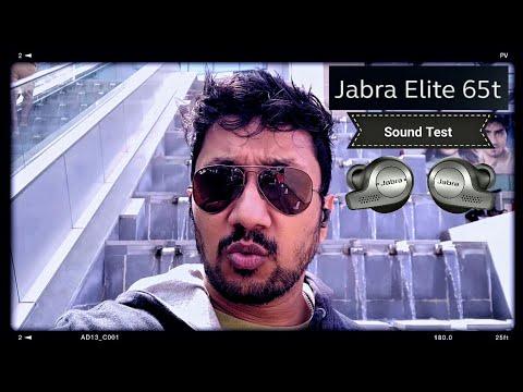 Jabra Elite 65t (Real life) Sound Test
