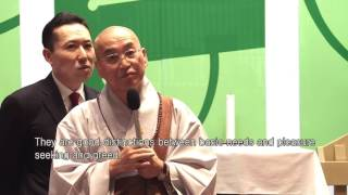 Download Compassion in Buddhism and Western Christianity - Ven. Pomnyun's Dharma Q&A Video