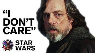 """Mark Hamill On Star Wars - """"I Don"""