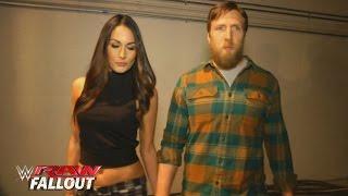 Daniel Bryan and Brie walk toward the ring before his farewell speech: Raw Fallout, Feb. 8, 2016