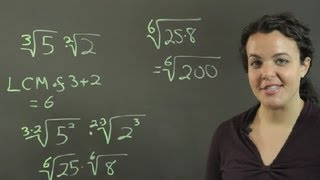 How To Multiply Radicals With Different Indices Conversions Other Mat