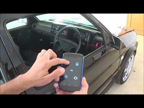 Smartphone car key fob