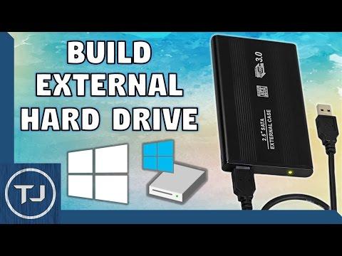 Create & Format An External Hard Drive! (Windows 10) (2017 Tutorial!)