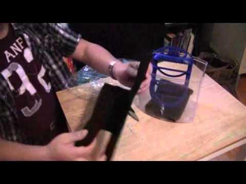 How to make DIY fish filter and save money on Aquarium Tank using carbon pad or granules