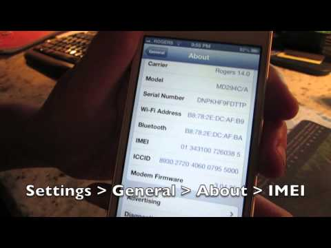 How to Unlock an iPhone 5S, iPhone 5C, iPhone 5 from Rogers