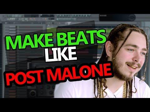 How to make BEATS like Post Malone - FL Studio Tutorial