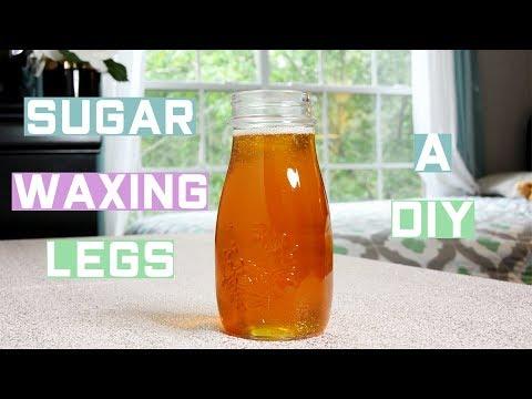Sugar Waxing Legs DIY (UPDATE)