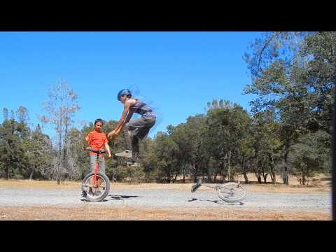 10 foot unicycle transjump