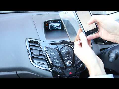 How to Setup Phone to Ford Sync radio Connect via Bluetooth (Fiesta/Focus)