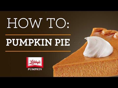 How to Make a Libby's Pumpkin Pie