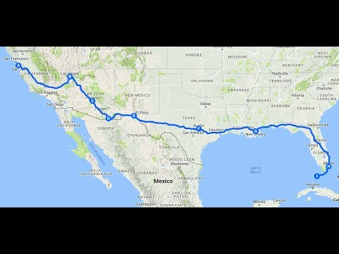 Motorcycle adventure across USA