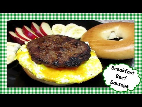 How To Make Beef Breakfast Sausage ~ Homemade Breakfast Sausage Patties