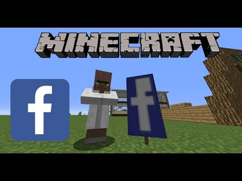 How to make a Facebook Banner in Minecraft!