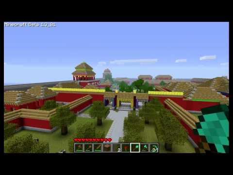 MineCraft Full scale Forbidden City
