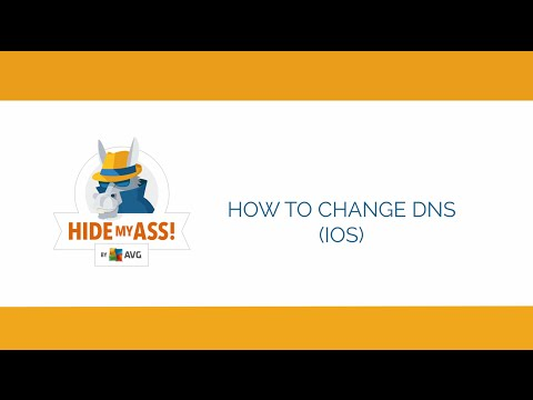How to change iOS DNS settings | Hide My Ass!