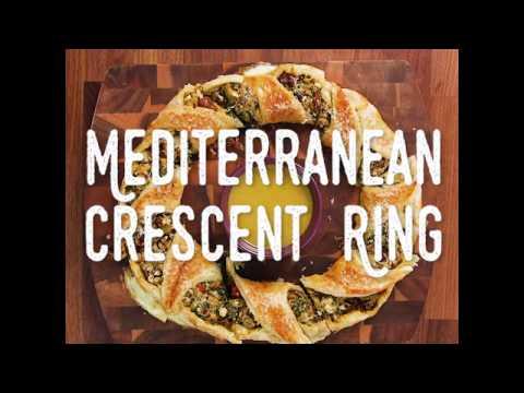 Mediterranean Crescent Ring Recipe Video