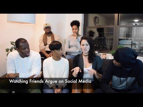 Evolution of Social Media: Watching Friends Argue on Social, Celebrity Social Media Beefs