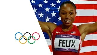 Allyson Felix Wins Women's 200m Gold - London 2012 Olympics