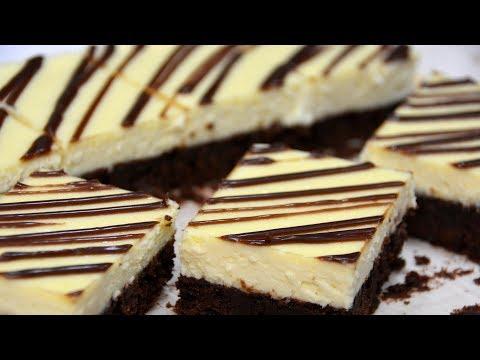 Brownie Cheesecake Bars Recipe | COLINary