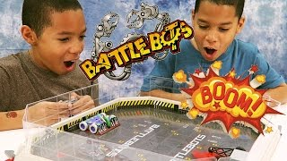 BATTLEBOTS ARENA CHALLENGE!!! Hexbug Unboxing and Toy Review