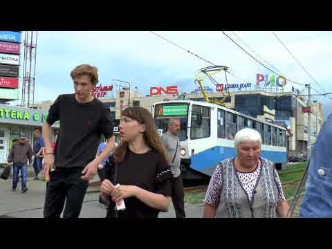 RUSSIA KOLOMNA TRAMS MAY 2018