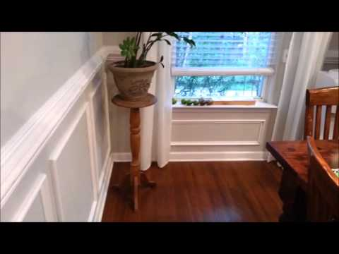 Chair rail and wall moulding DIY