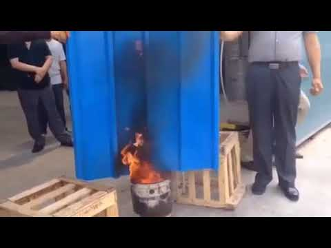 Fire Proof Test of All Roof Tiles Polyester Corrugated Sheet