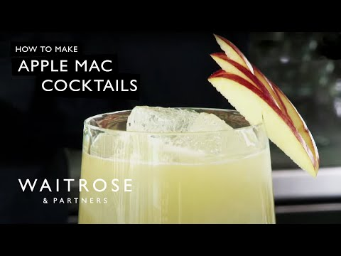 Apple Mac cocktail recipe - Waitrose