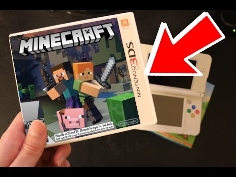 MINECRAFT FOR THE NEW 3DS?