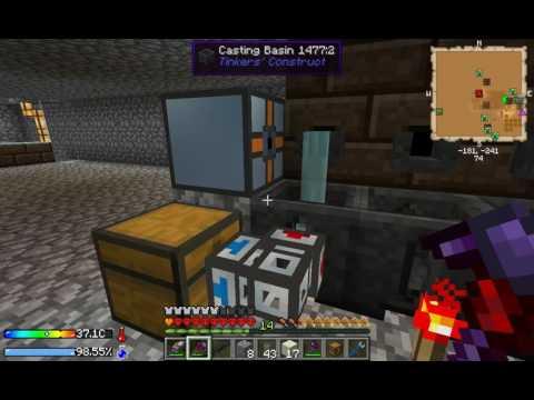 Minecraft Auto Smeltery Crash Landing