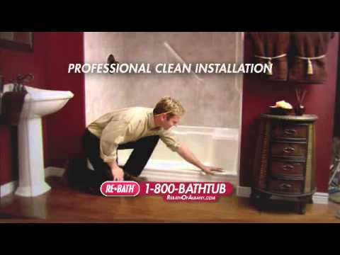 Fast and Clean Installation by ReBath of Albany