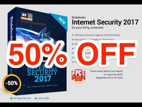 Bitdefender Internet Security 2017   50% Discount Coupon Code